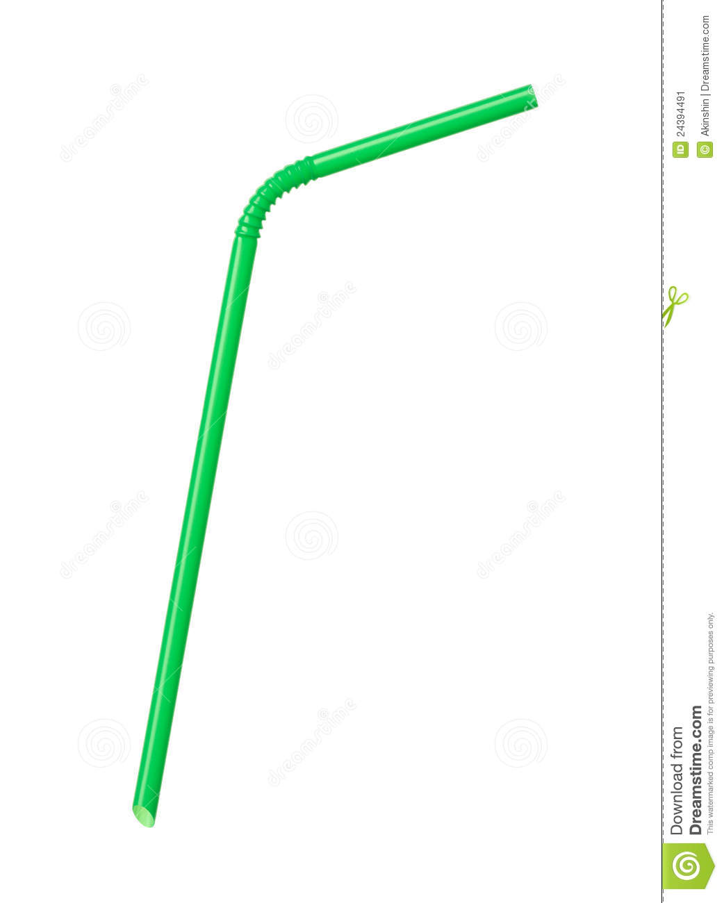 Drinking Straw Stock Image - Image: 24394491