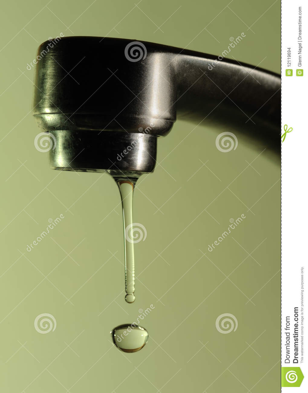 dripping faucet stock images image 12119694
