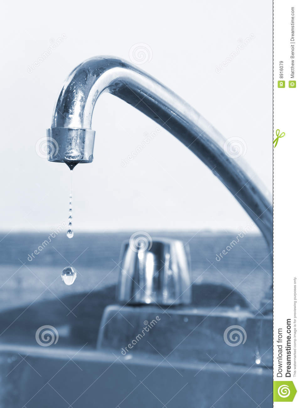 Dripping Faucet Royalty Free Stock Image