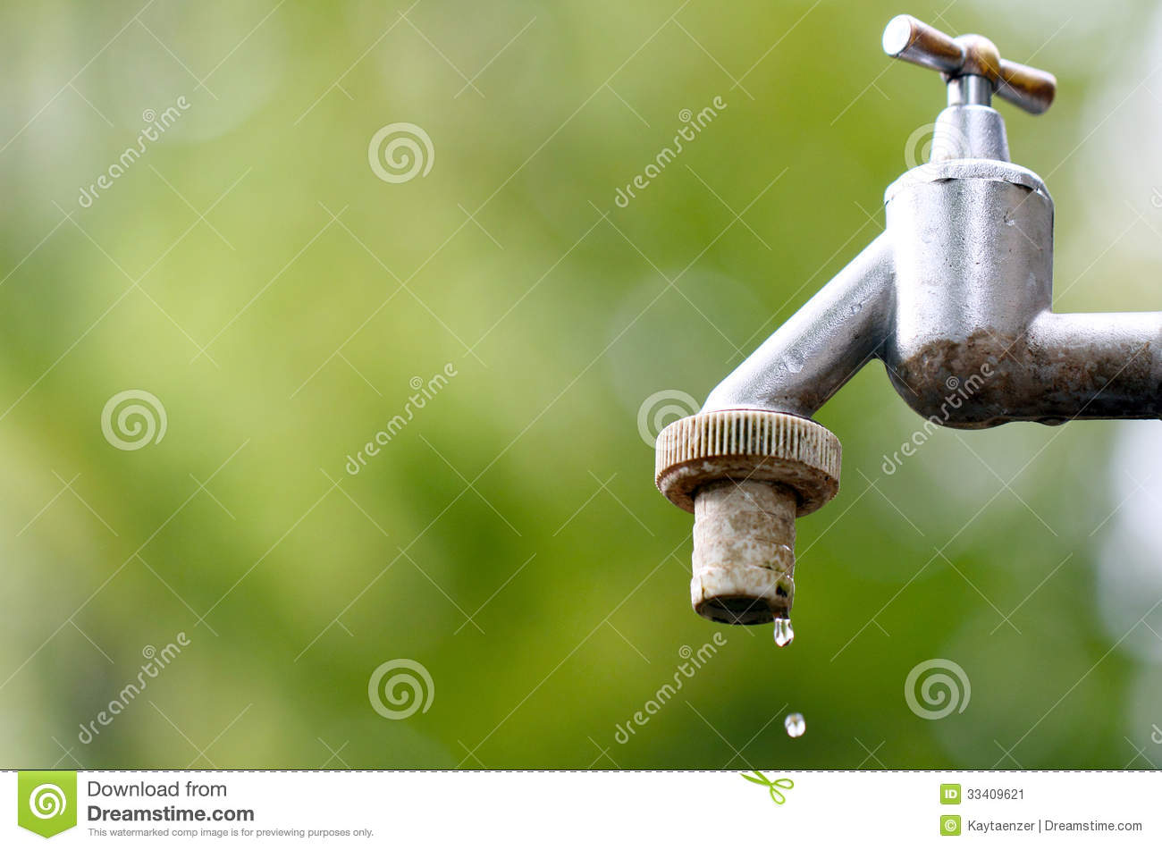 Dripping faucet stock image. Image of cemetery, drought - 33409621