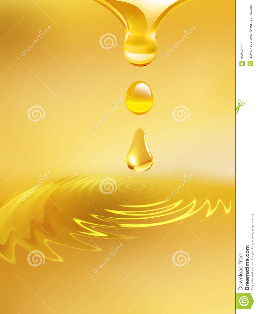 Dripping Oil Royalty Free Stock Image - Image: 35268856