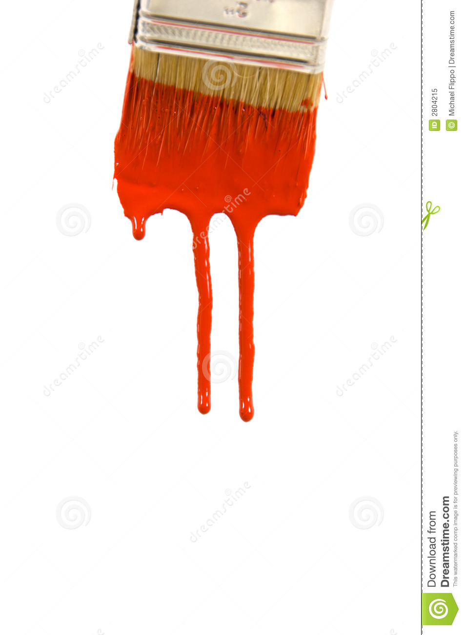Dripping Paint Royalty Free Stock Photo Image 2804215