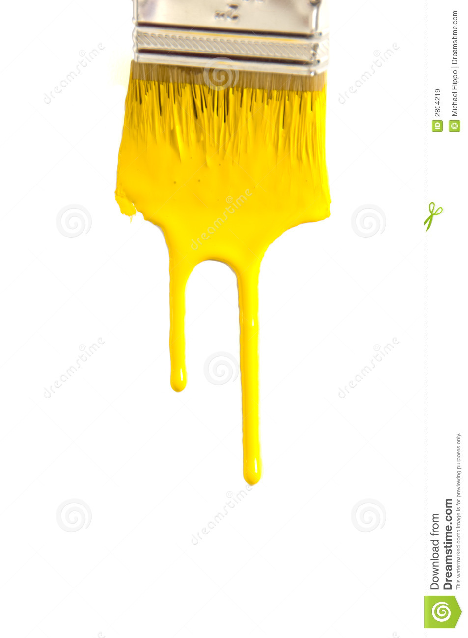 Dripping Paint stock image. Image of decorating, runny
