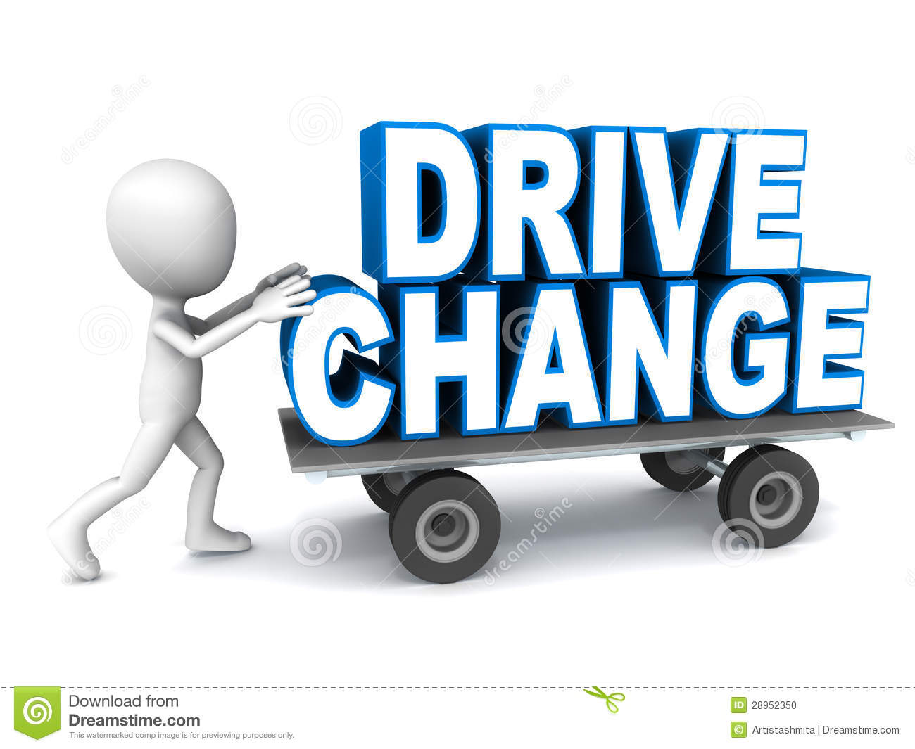 Drive Change Stock Illustration. Illustration Of Manage