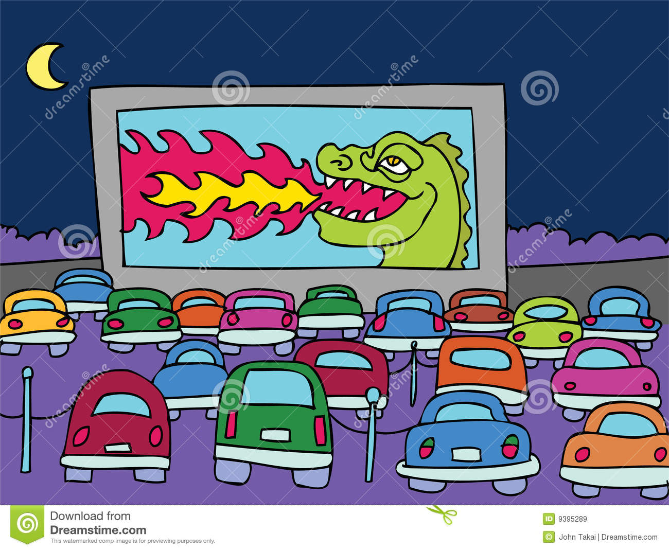 drive in theater royalty free stock images image 9395289