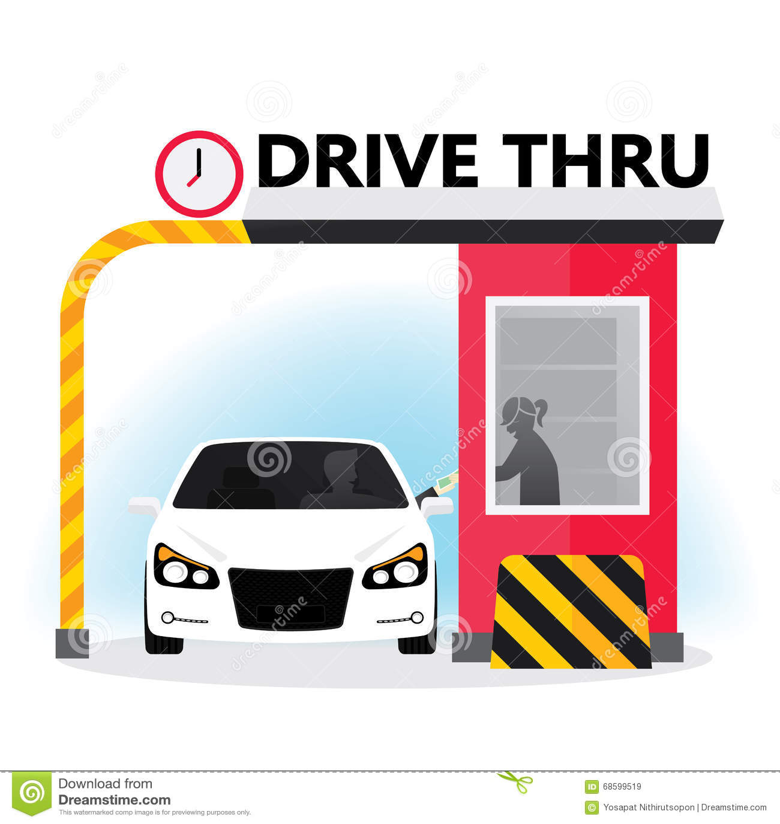 how to work drive thru