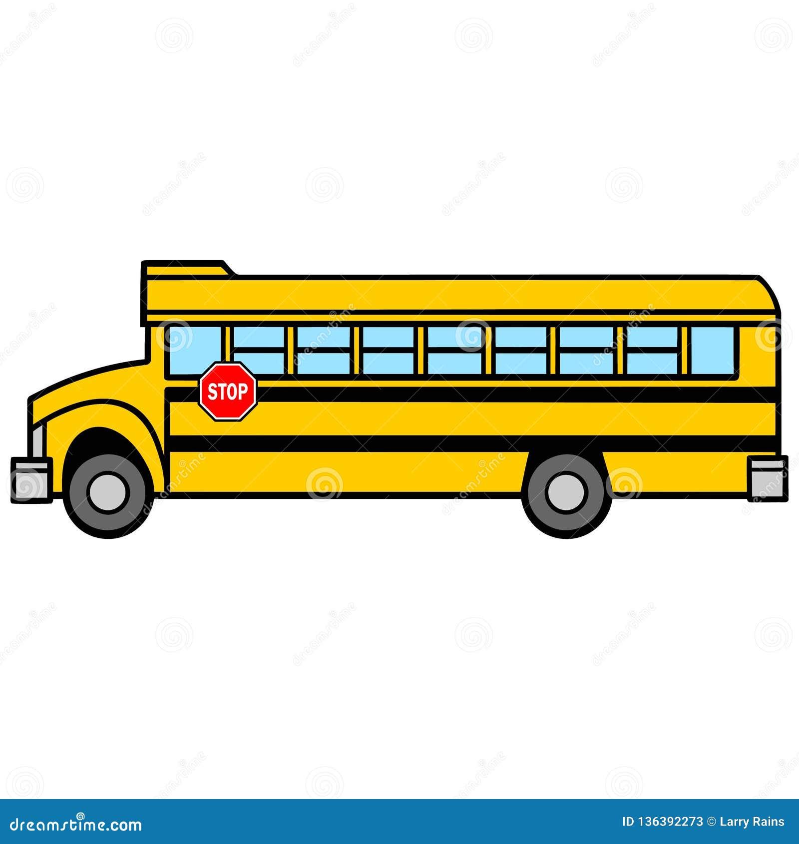 Driver di scuolabus Side