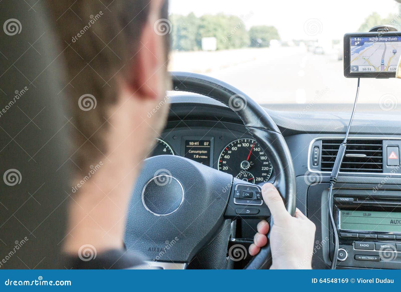 Download Driver driving car stock image. Image of driver, navigate - 64548169