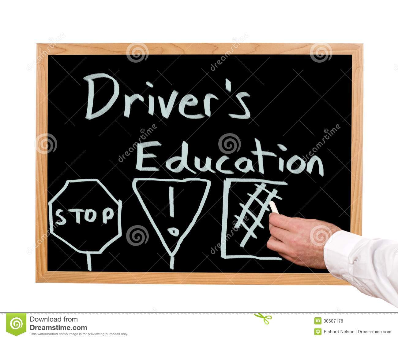 Driver S Education: Driver's Education Royalty Free Stock Photos