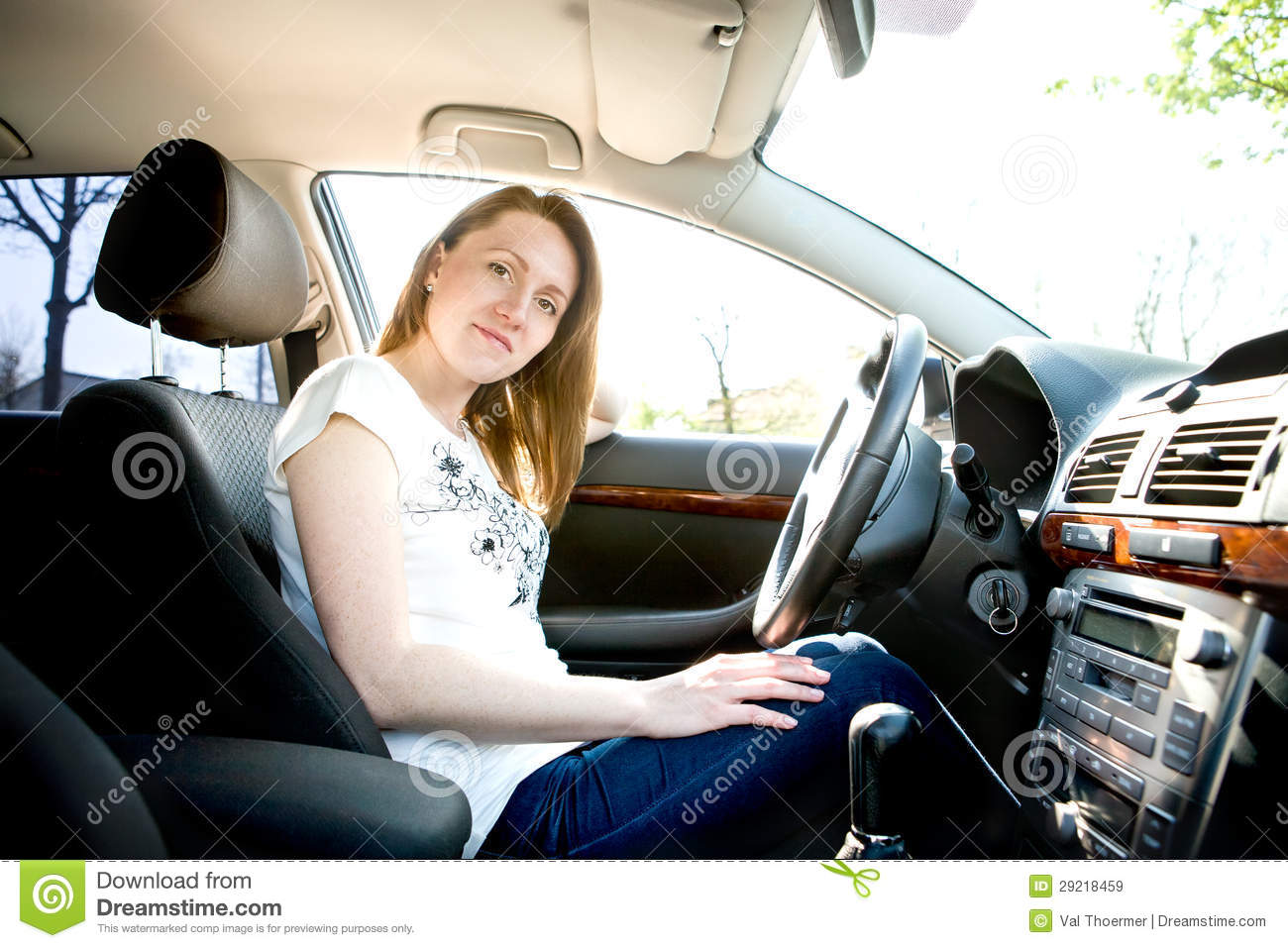 Drive Time Cars >> Driving Girl Royalty Free Stock Images - Image: 29218459