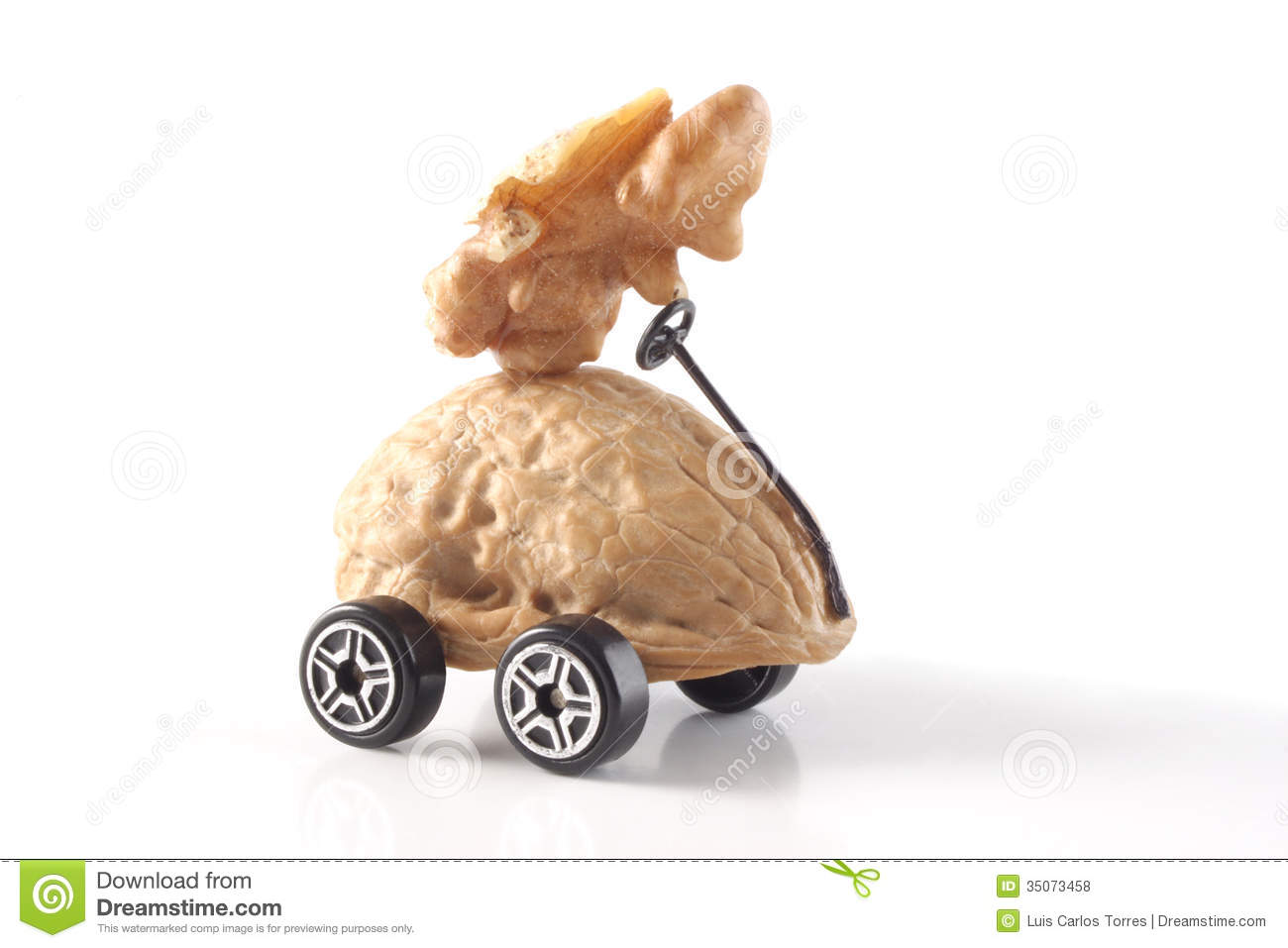 Driving Me Nuts Royalty Free Stock Photos - Image: 35073458
