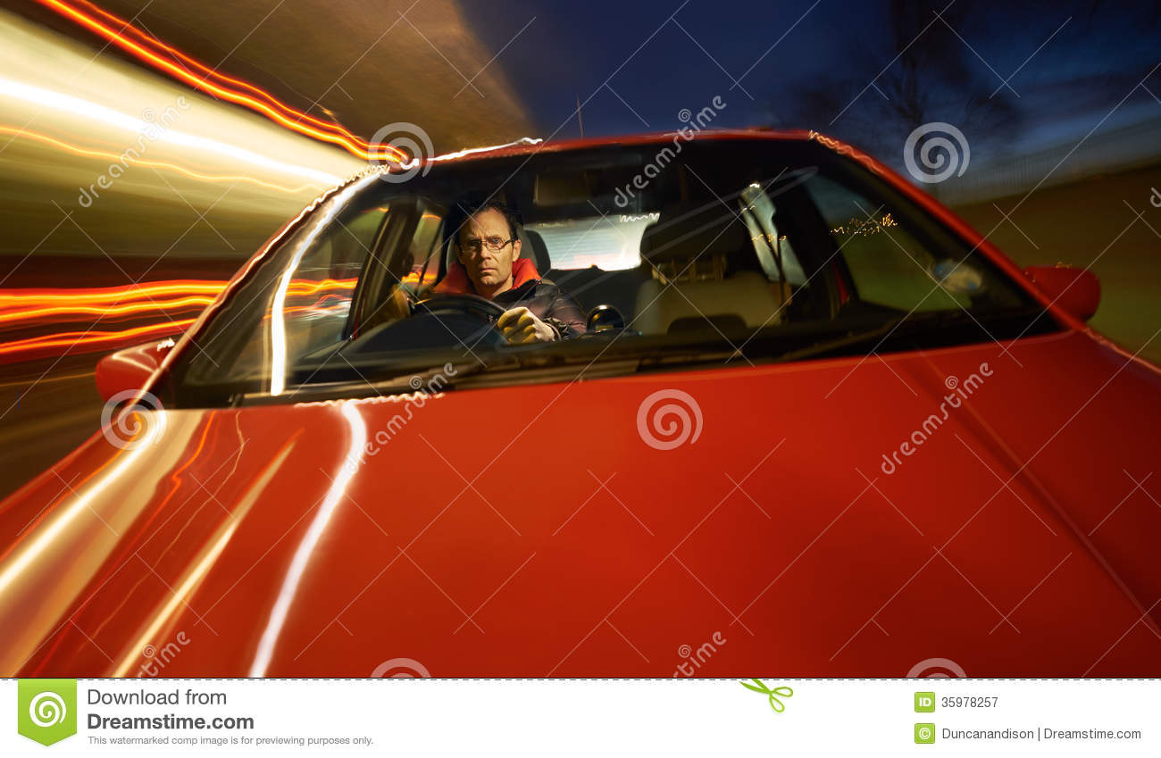 handsome man driving a car picture royalty free stock