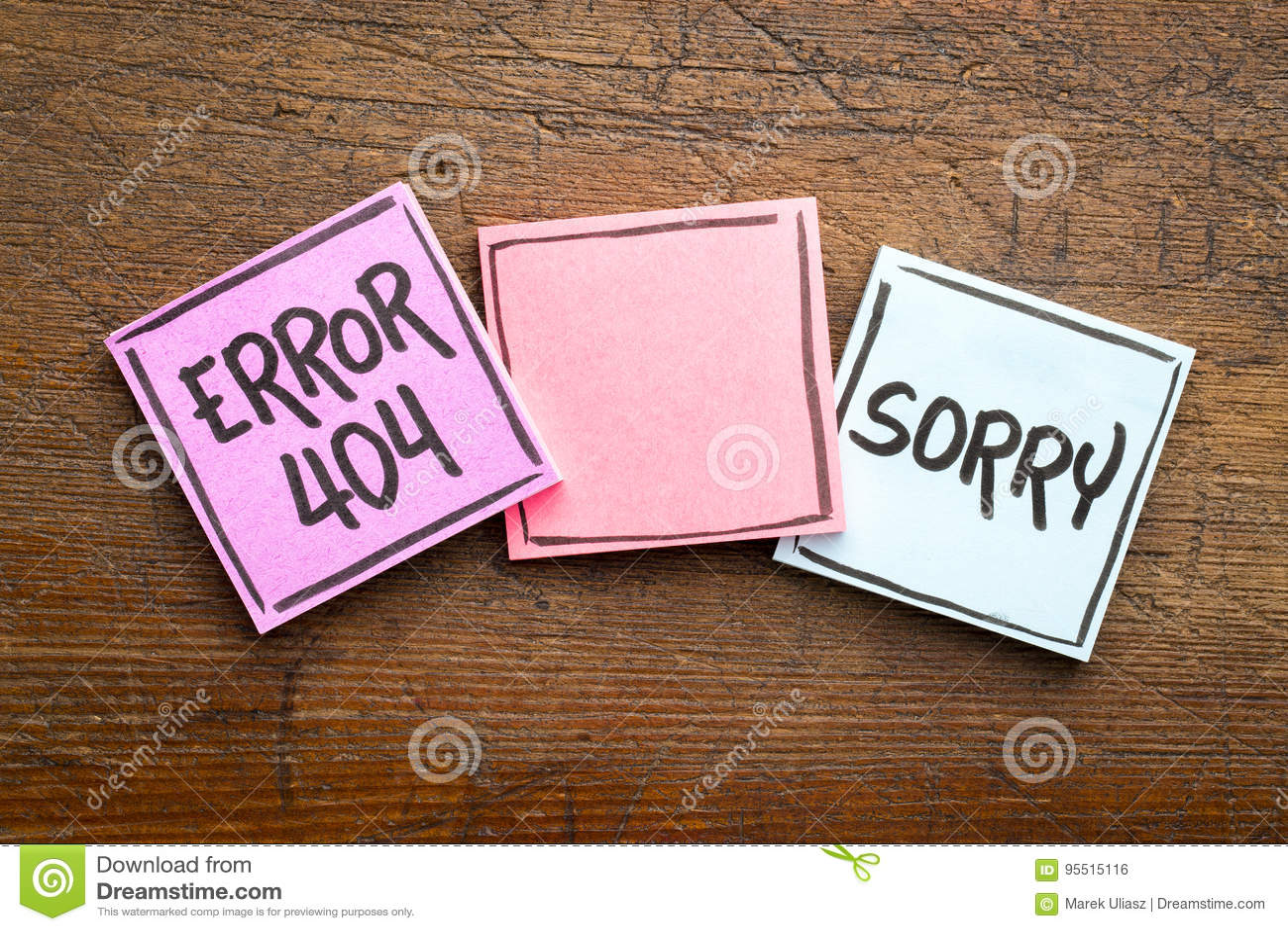 Droevig, fout 404 - gevonden niet pagina