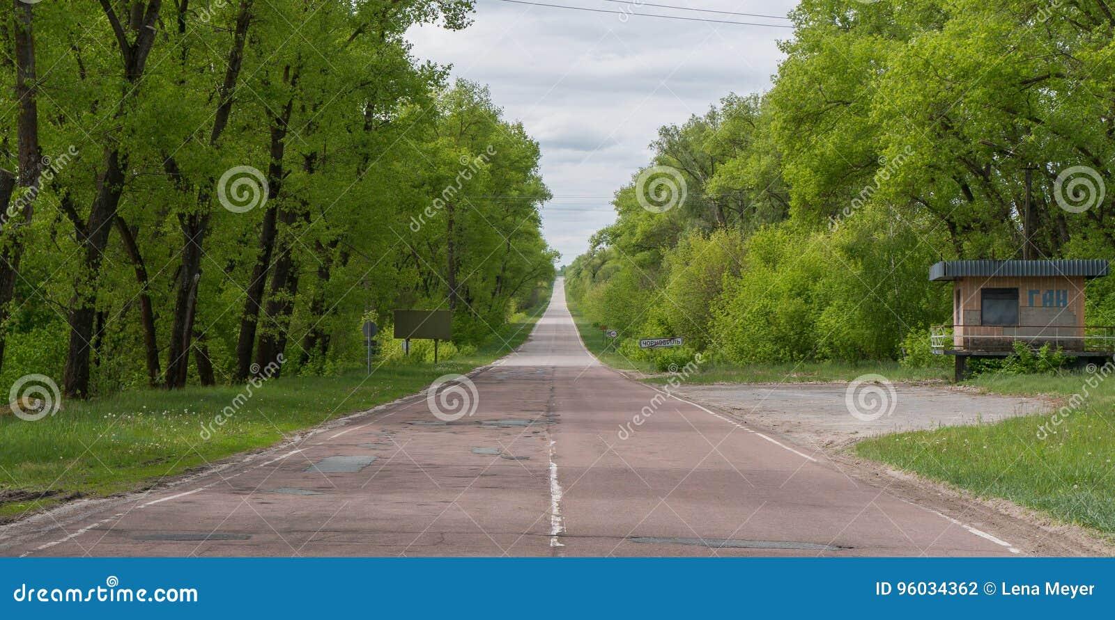 Droga do i z Chernobyl