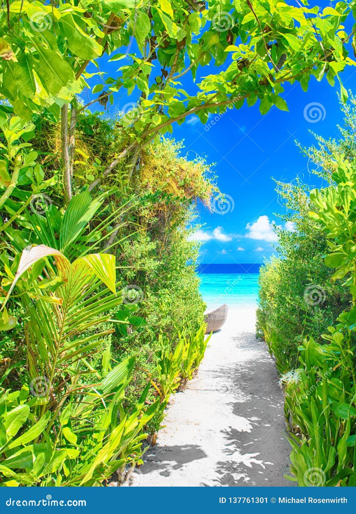 Droga przemian piękna plaża