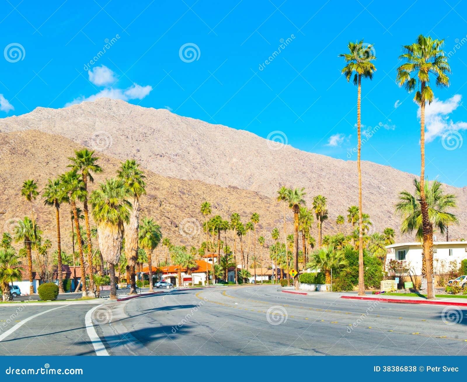 Droga w palm springs