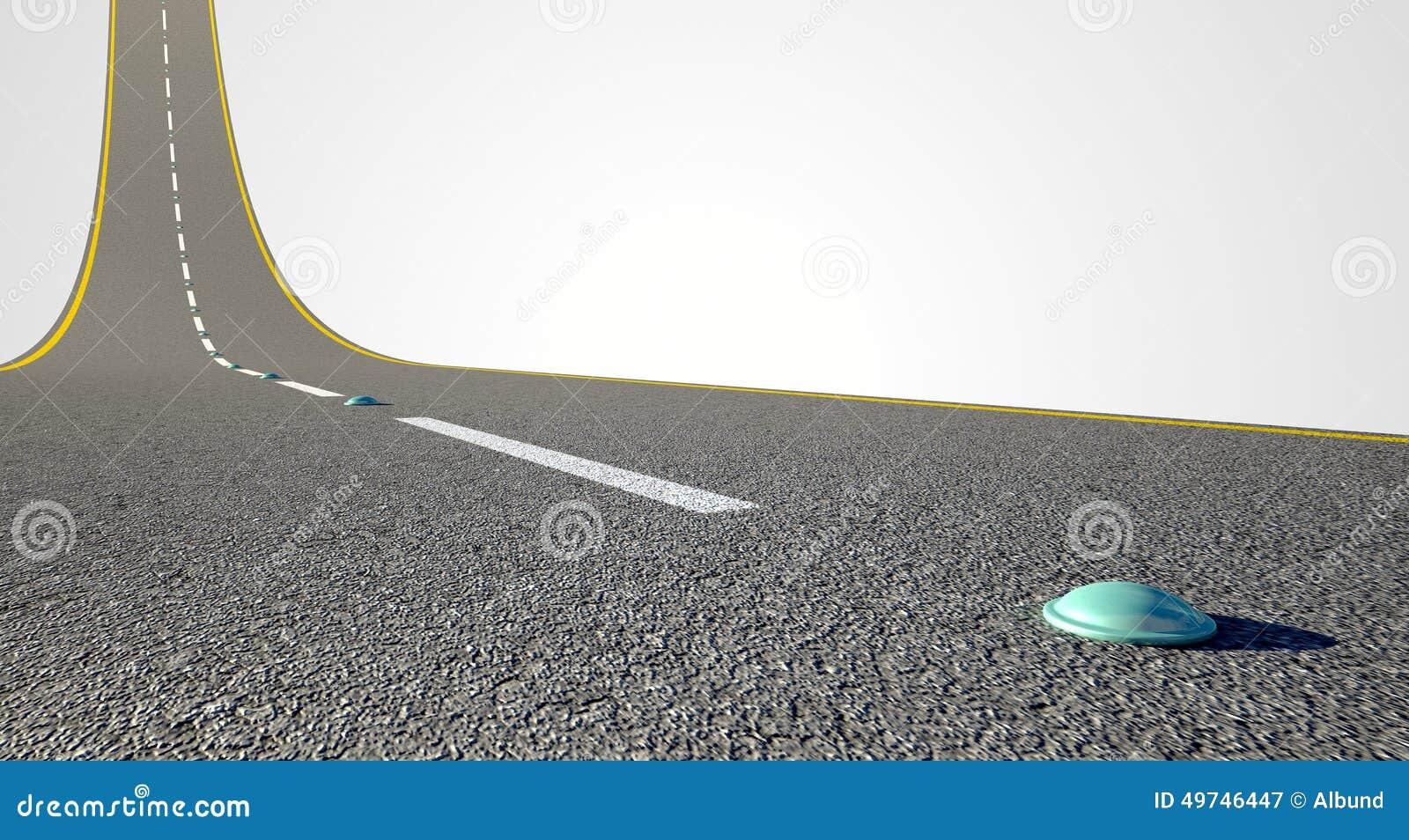 Droga Wyginający się Oddolny