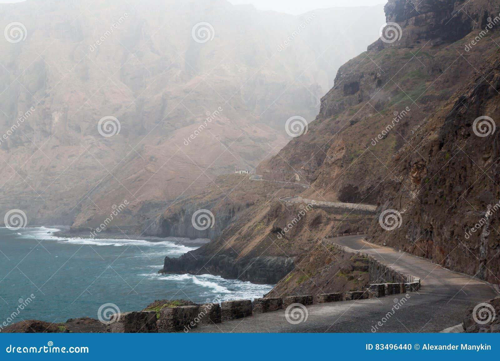 Droga wyspa Sao Nicolau, przylądek Verde