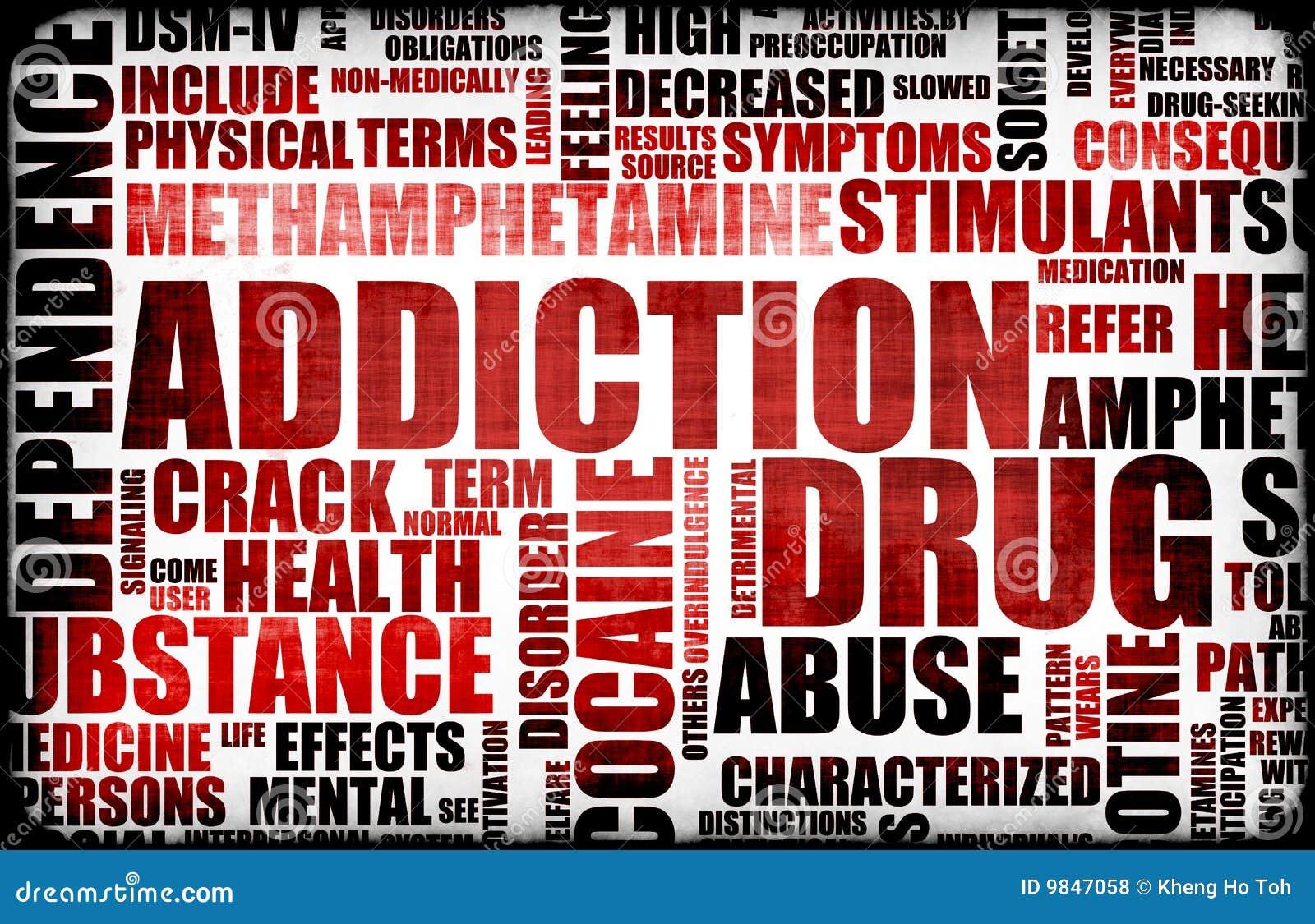 Drogadicción roja
