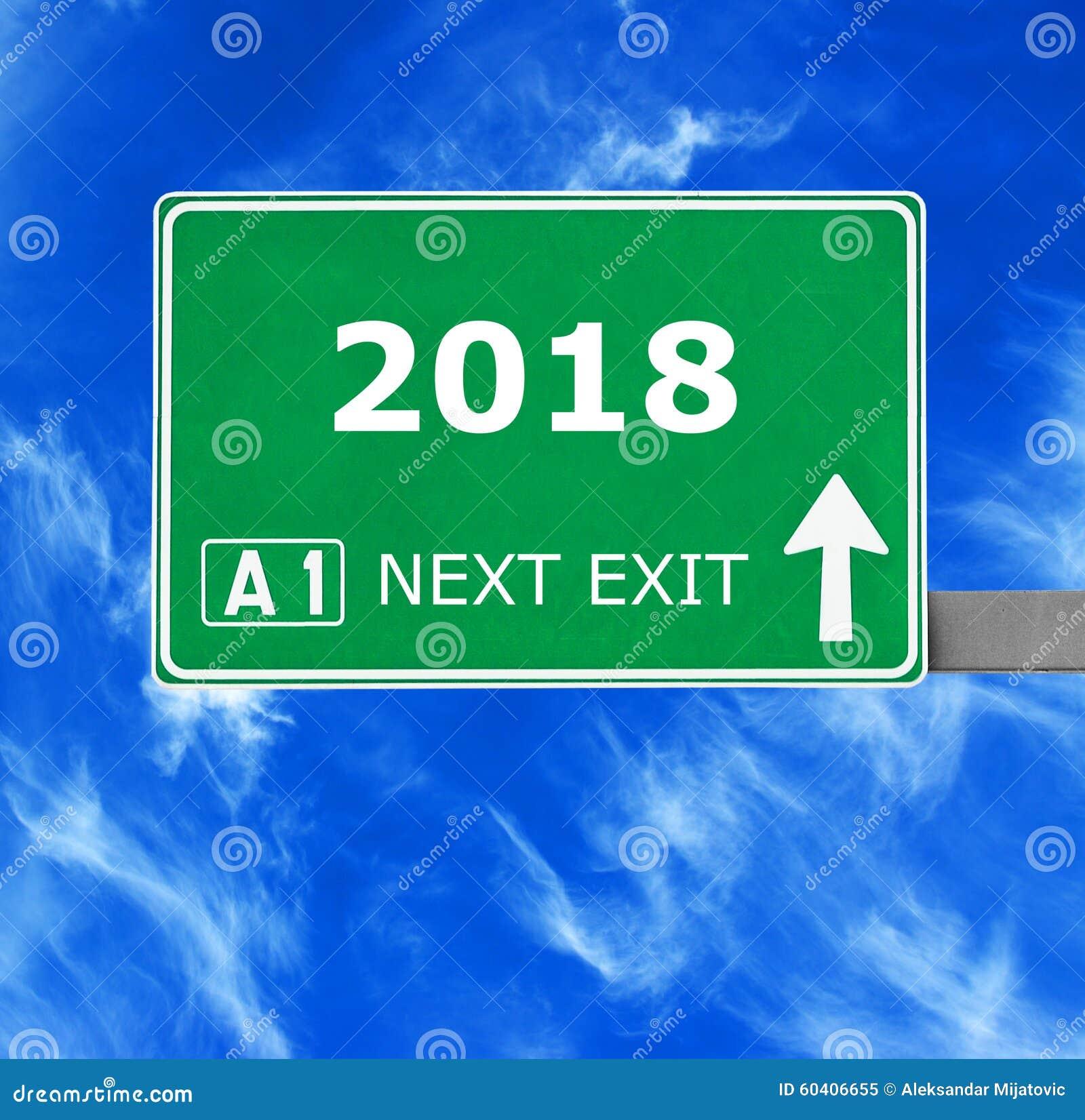 2018 drogowych znaków przeciw jasnemu niebieskiemu niebu