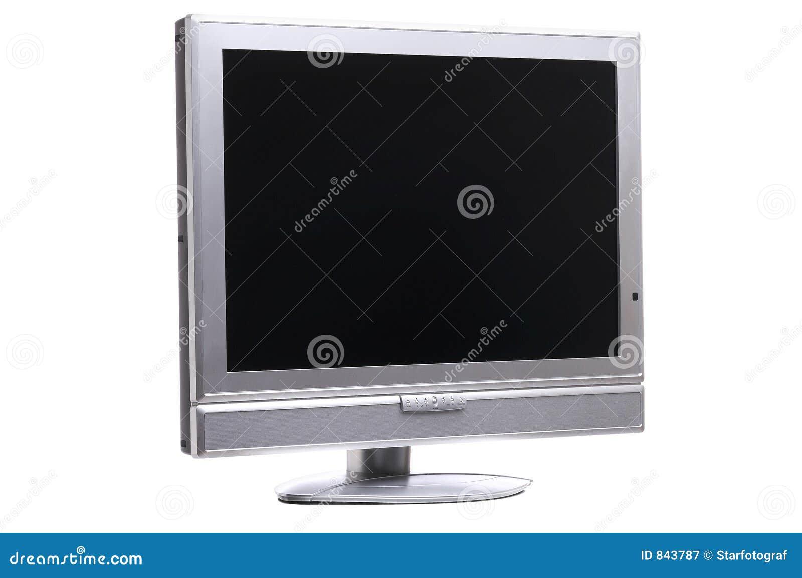 Droite d écran plat