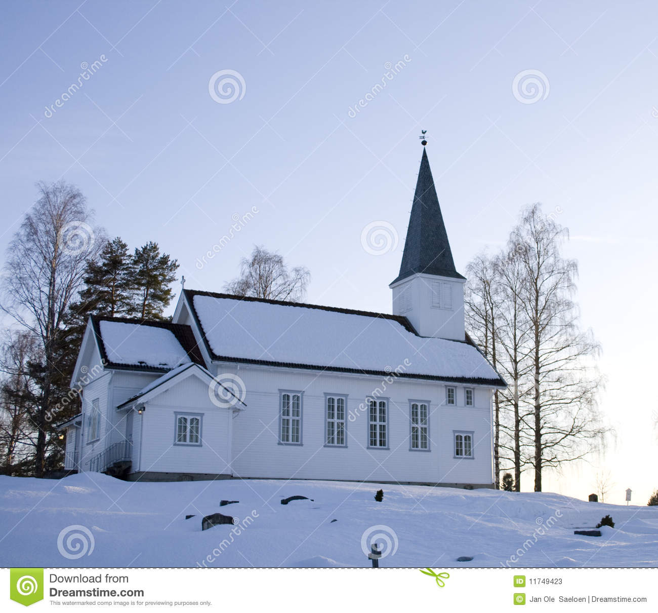Download Drolsum Church stock image. Image of church, religion - 11749423