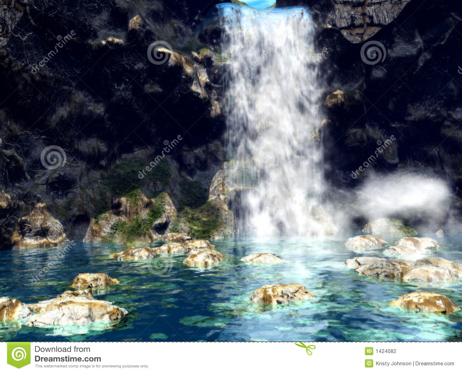 Dromerige Waterfall1
