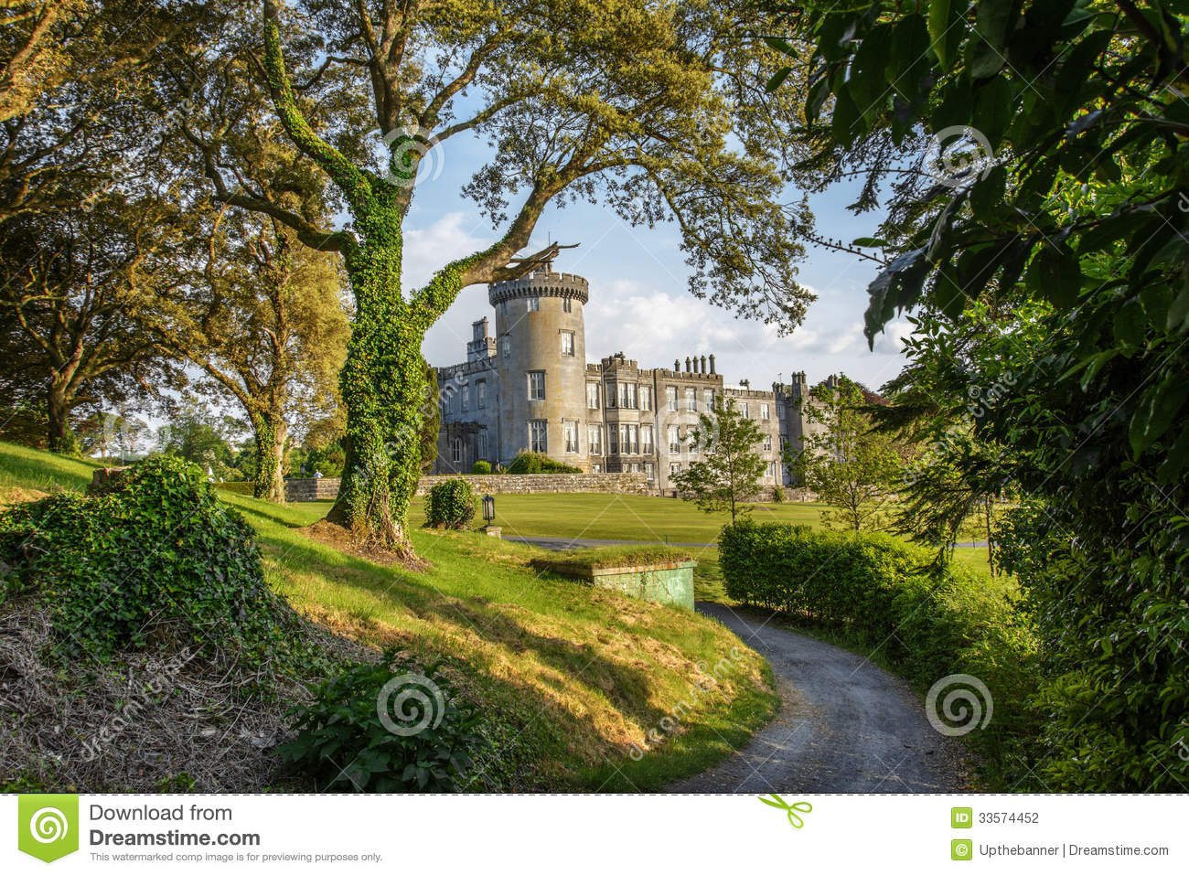 Dromoland castle county clare ireland stock photography - Free garden plans ireland ...