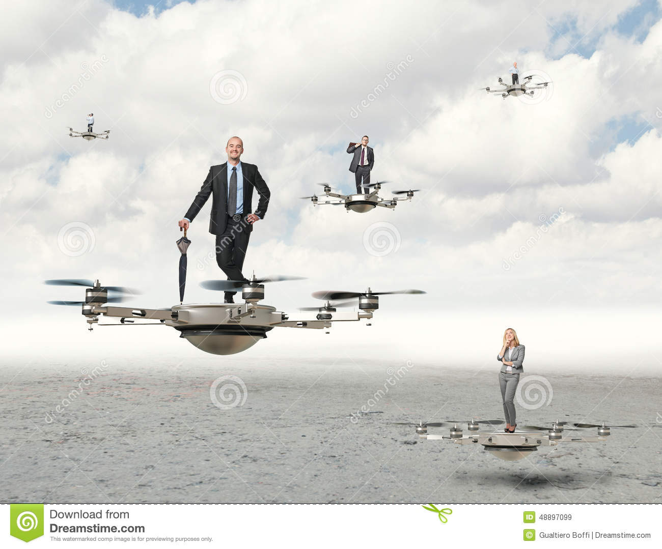 Drone business stock image  Image of helicopter, desert