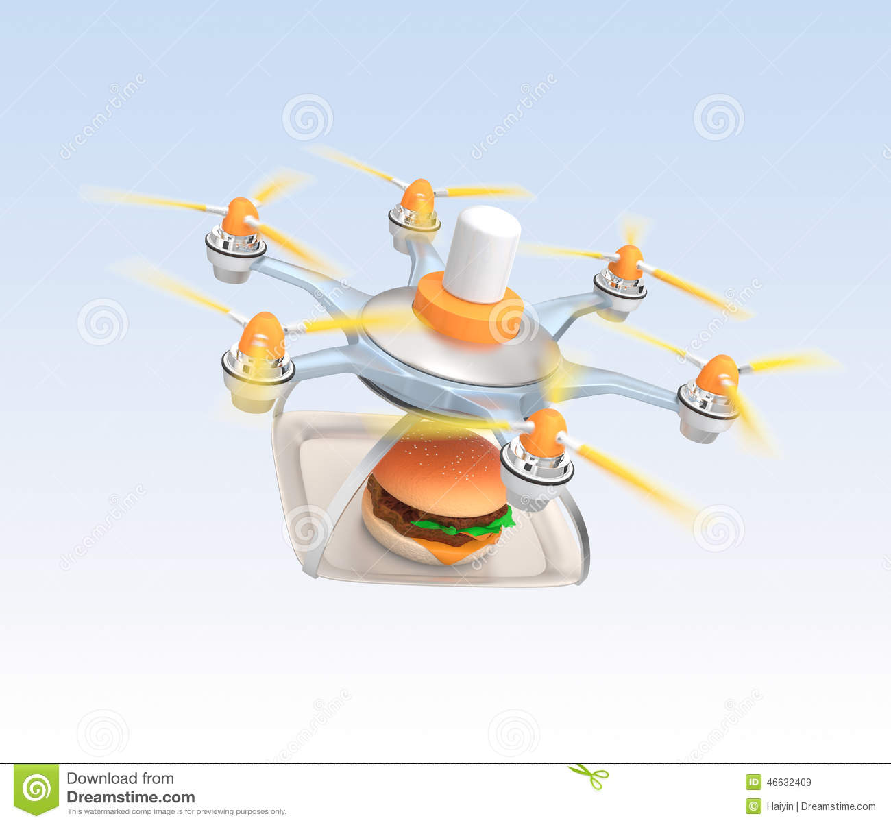 Fast Food Drones