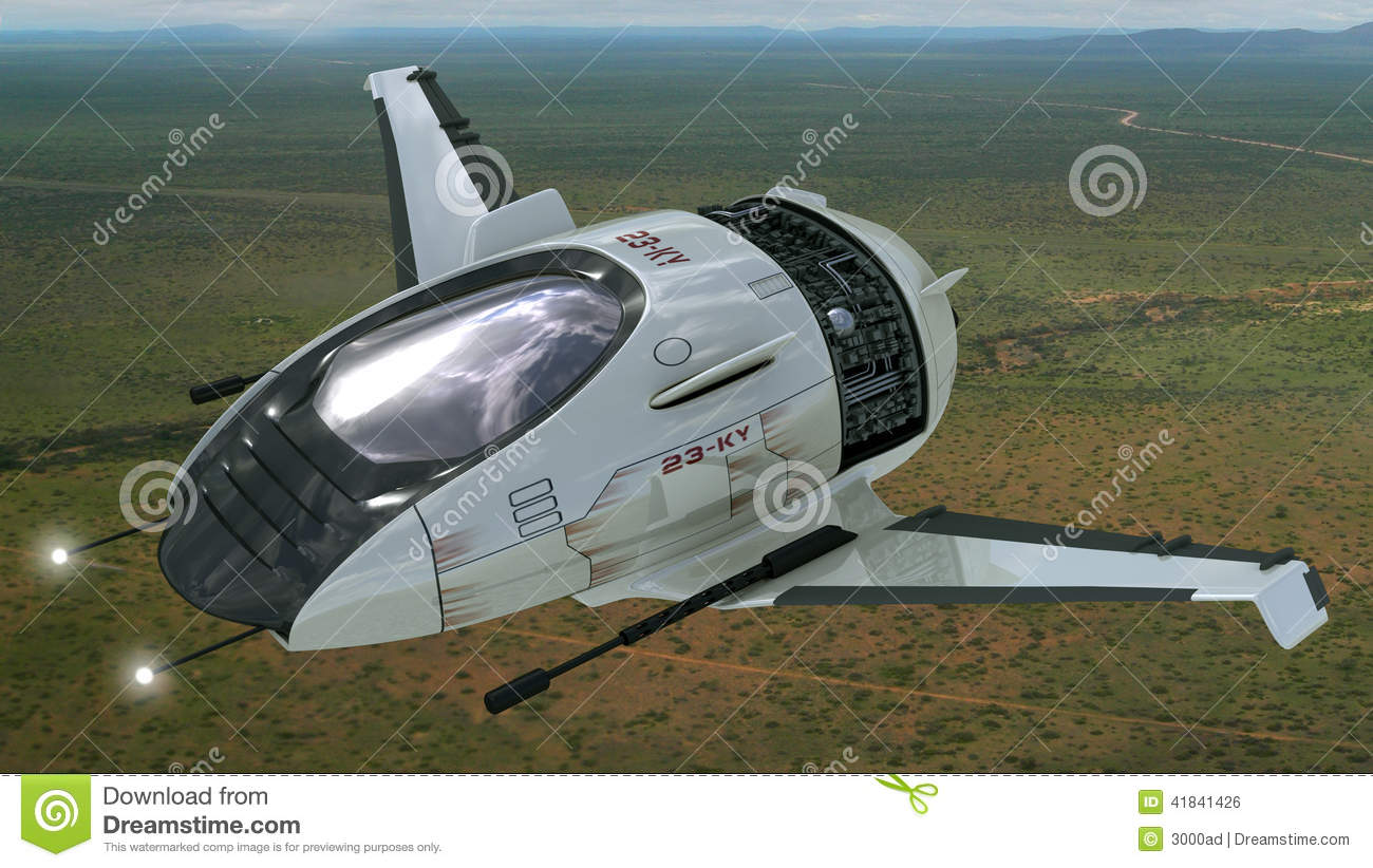 Drone Design For Futuristic Military War Games Stock Photo Image