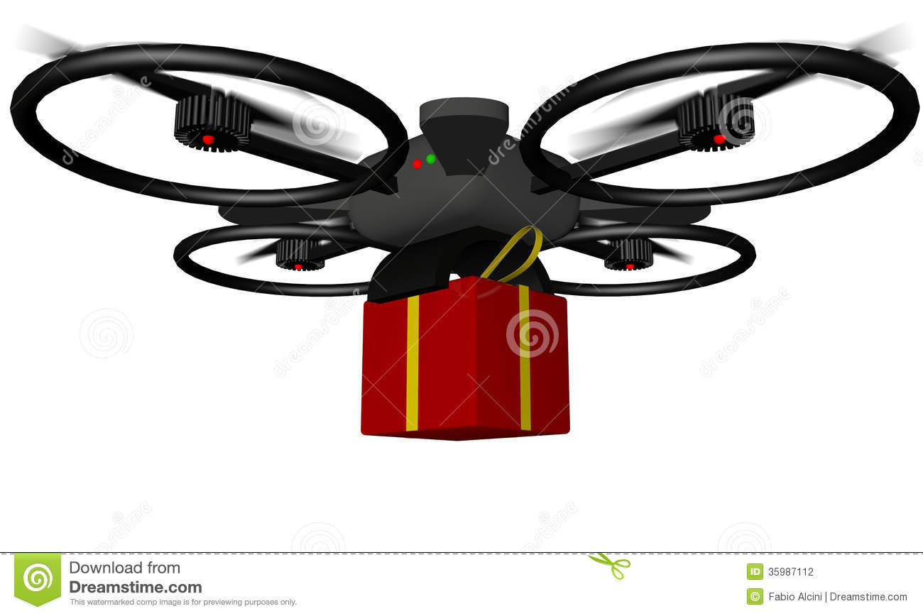 Drone Stock Illustration Of