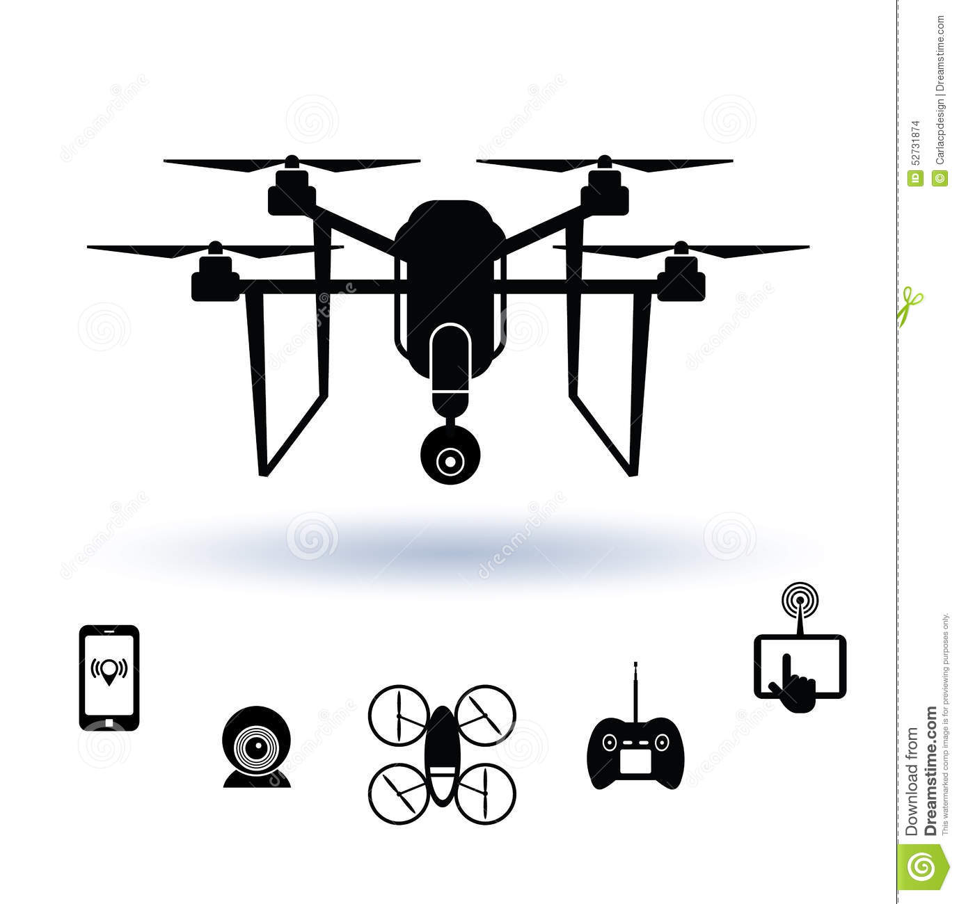 remote drone with spy camera with Stock Illustration Drone Icon Set Vector Illustration Image52731874 on 2013 04 01 archive besides Black hor  nano also Los Drones Mas Pequenos Del Mundo additionally 24 together with Filing To Faa On Drones Model Aircraft.