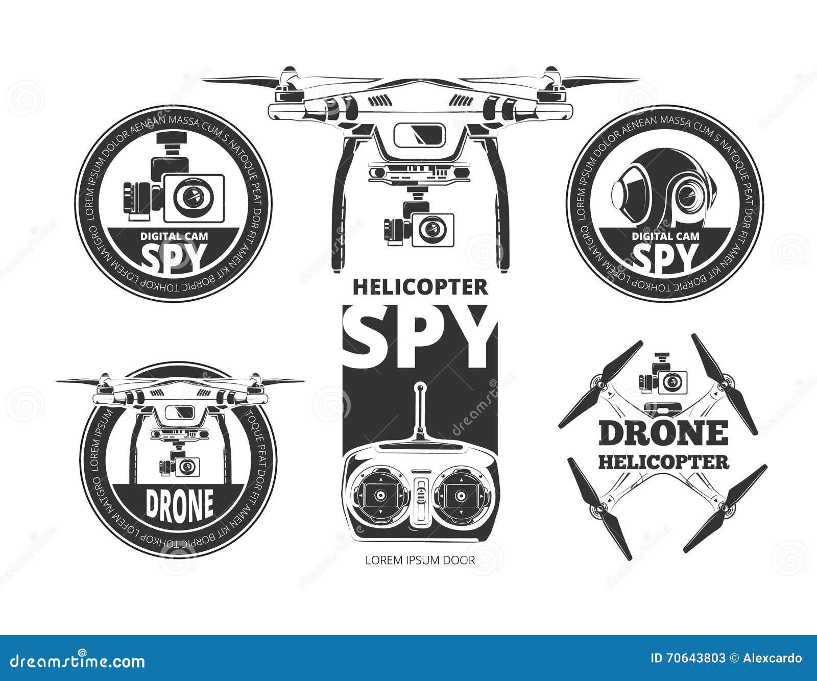 Drone stock vector  Illustration of remote, pilot