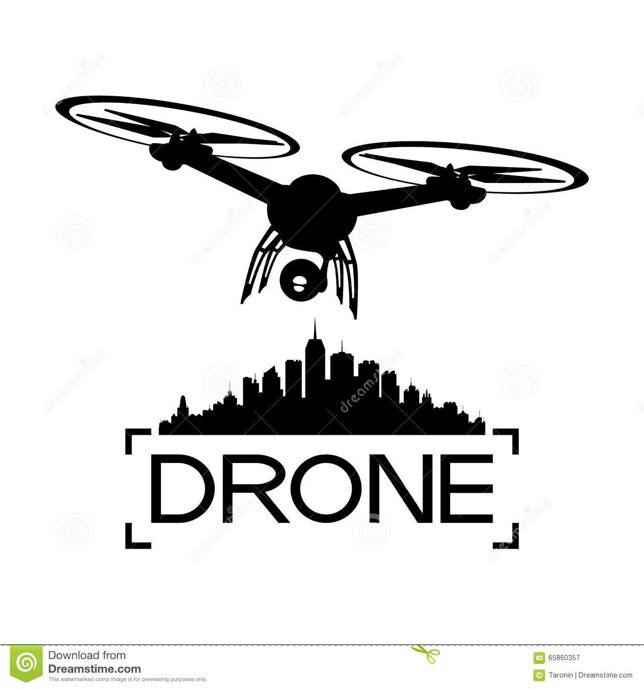 Drone With A Video Camera