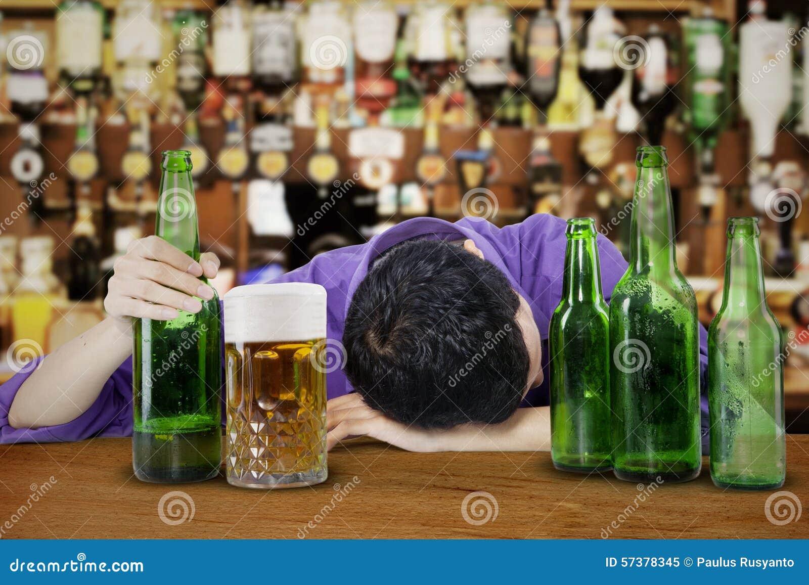 Dronken en Onbewuste Mens