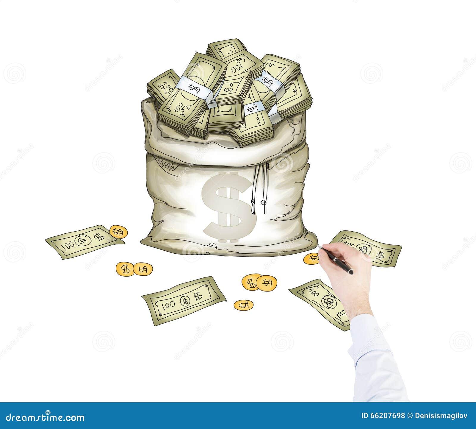 Droom over geld