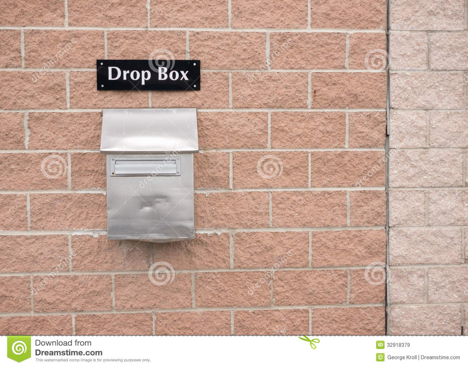 Drop Box Royalty Free Stock Images - Image: 32918379