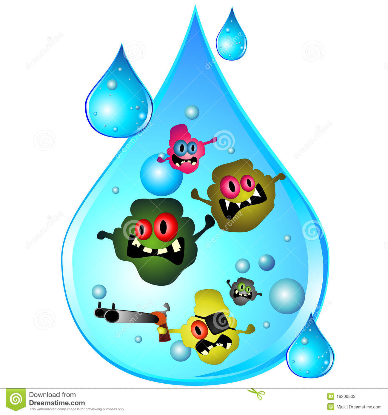 More similar stock images of ` Drop of dirty water `
