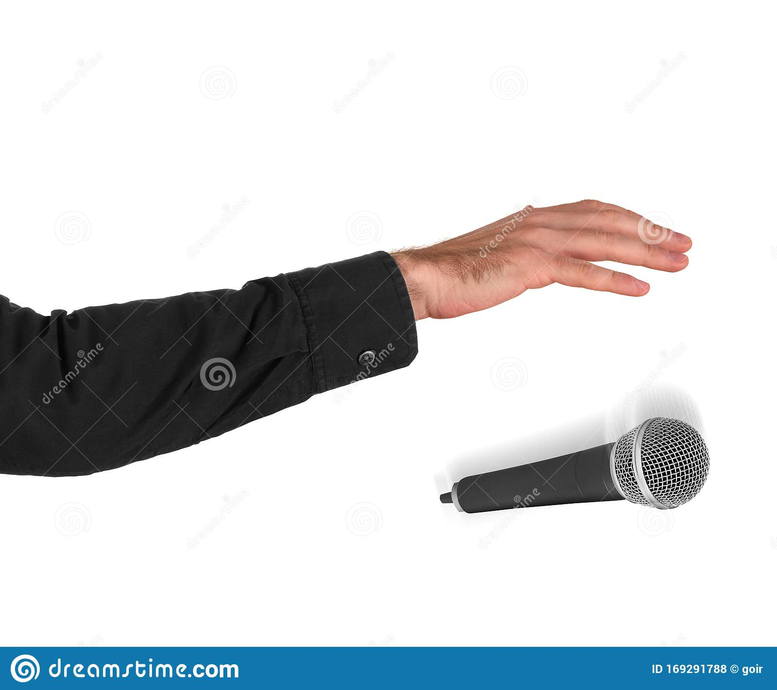 Drop the mic stock photo. Image of square, emoticon - 169291788