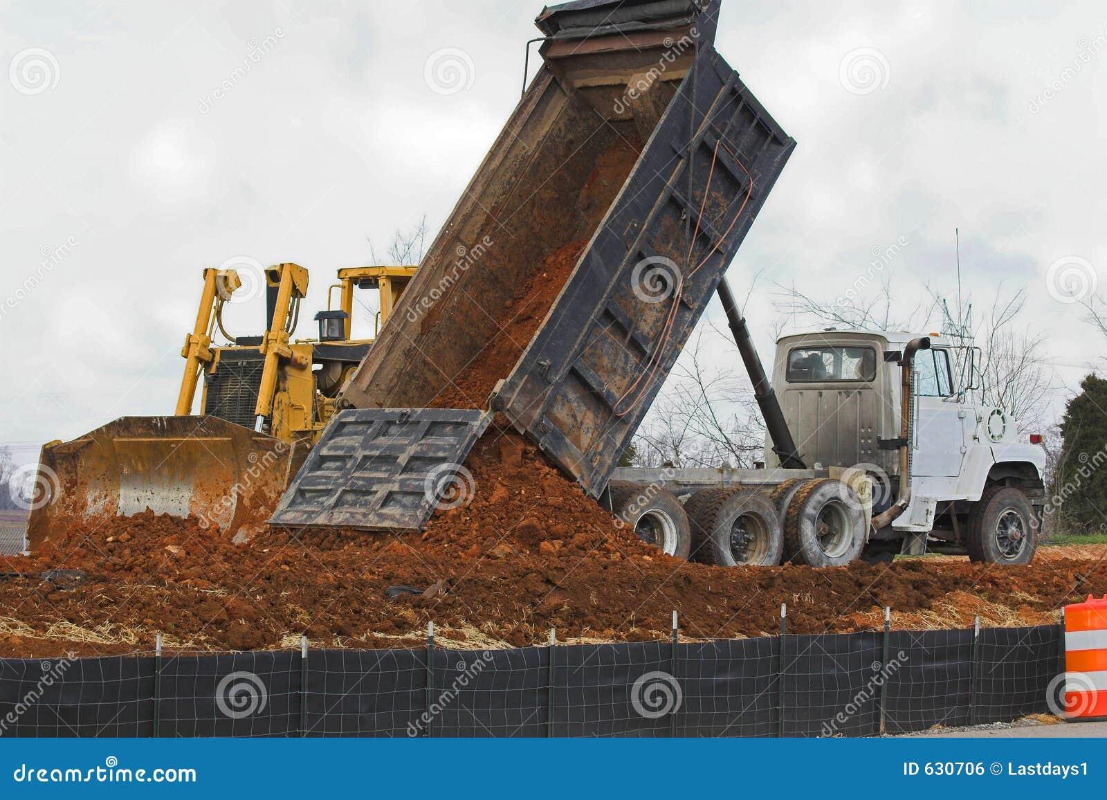 Drop more dirt