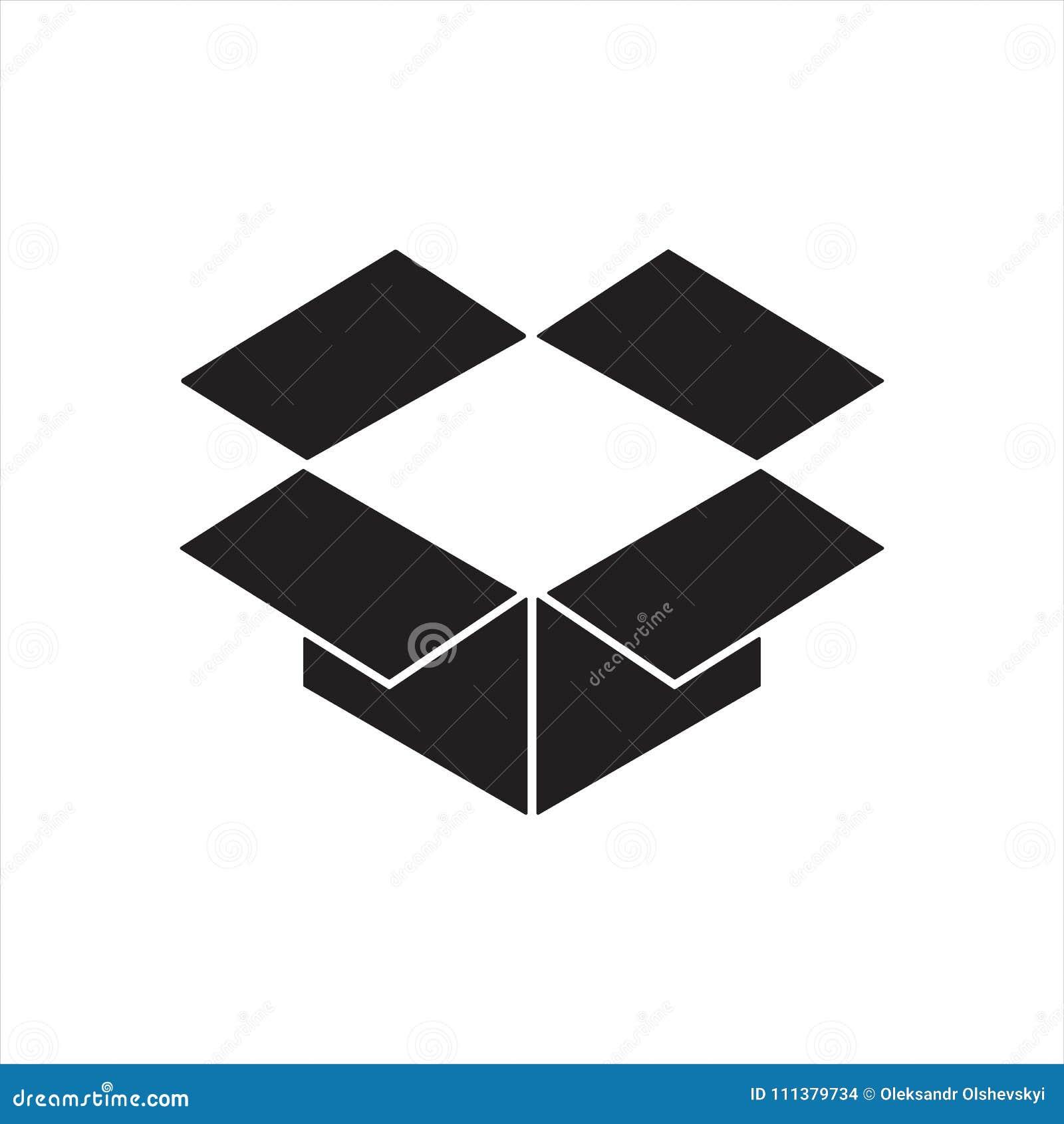Dropbox Icon Or Logo Editorial Stock Image Illustration Of Icon