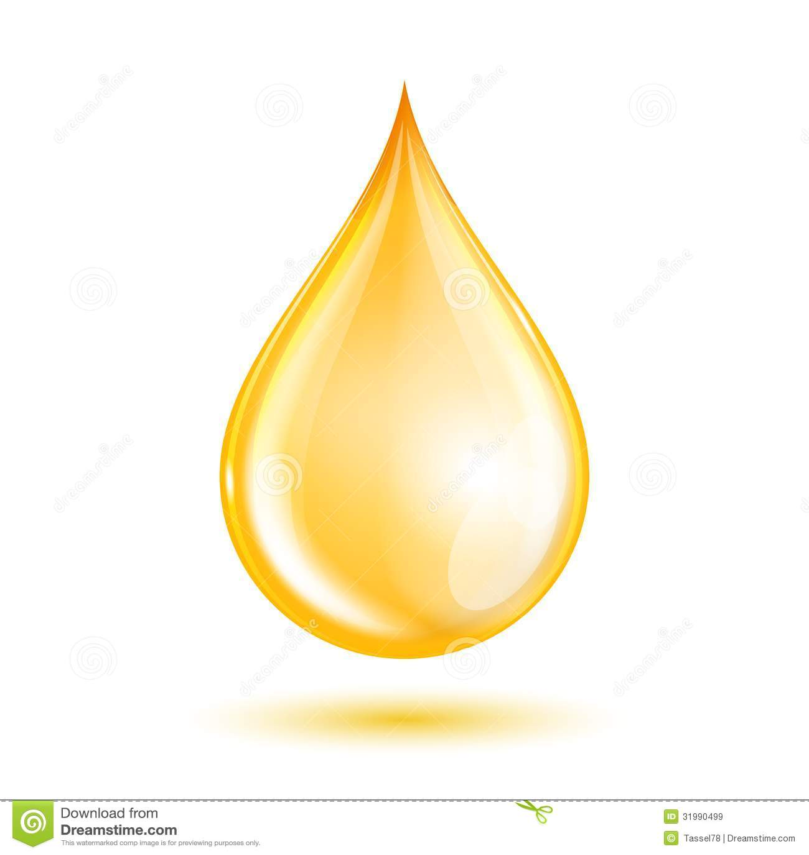 Droppe av olja