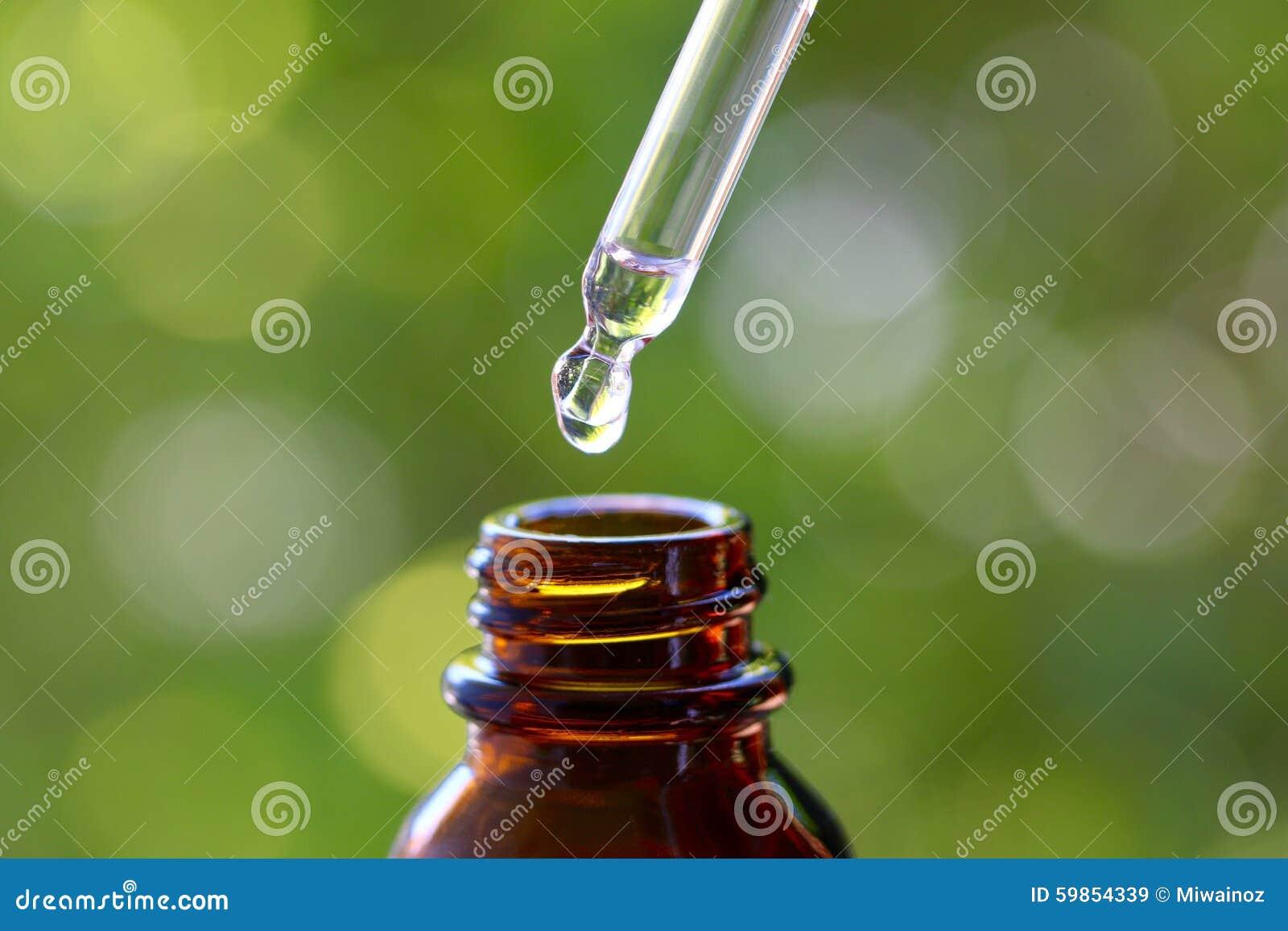 Dropper και γυαλιού μπουκάλι