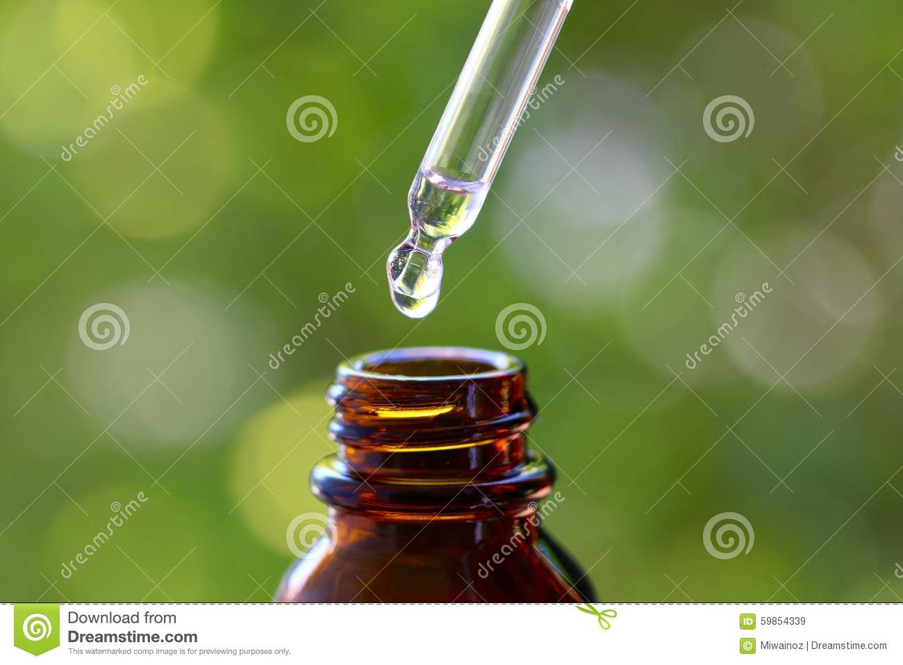 Dropper and Glass Bottle