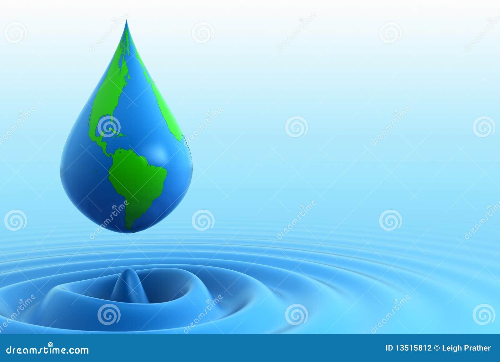 Droppjordvatten