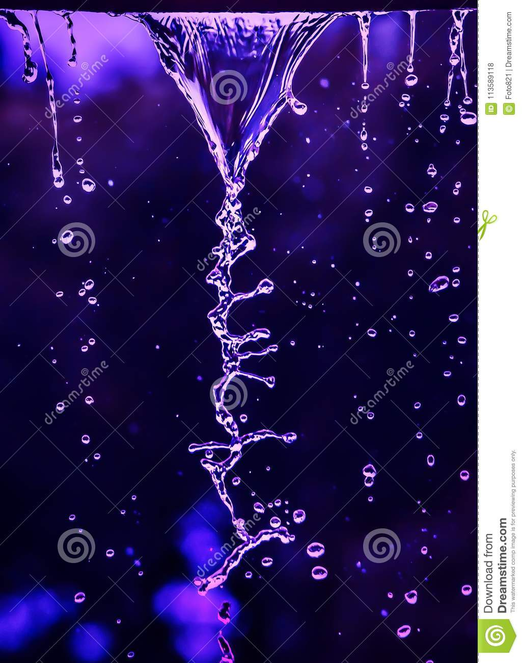 DNA of water