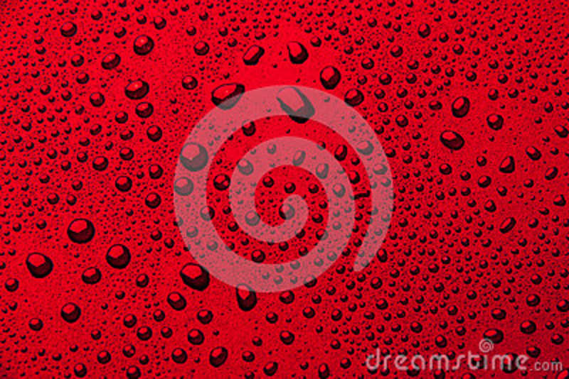 Download Drops Of Water On A Color Background. Red Stock Image - Image of burgundy, champagne: 89405583