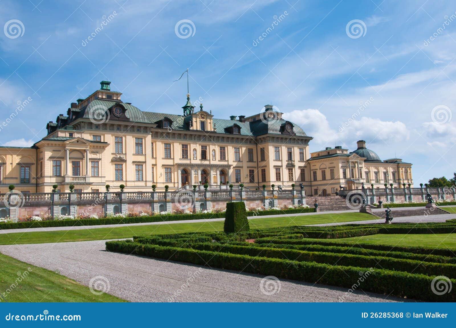 Drottningholm Palace Stockholm Sweden Stock Photo
