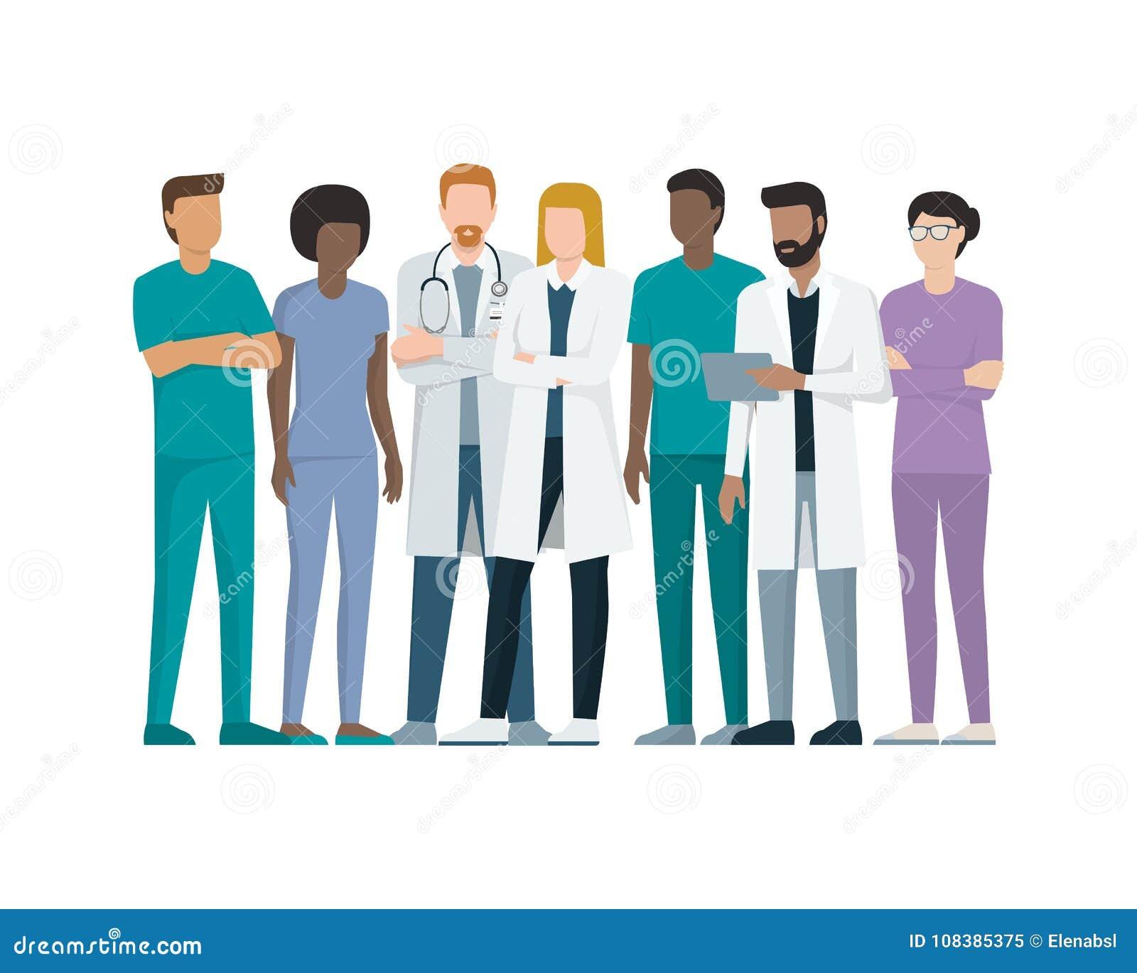 Drużyna lekarki